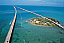 The 7-mile bridge to Key West