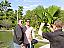 Taking a photo at Botanical Garden.