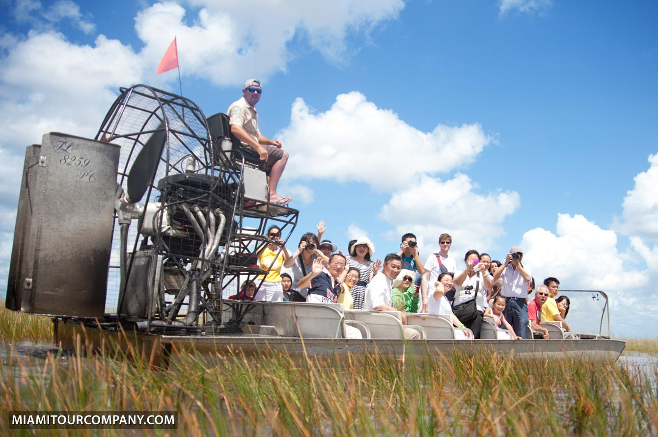 Key West Hotels >> Everglades Airboat Ride & Wildlife Show